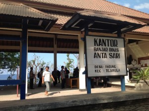 Lokasi Acara Desa Pacung, Kecamatan Tejakula, Kabupaten Buleleng