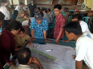 Suasana Penentuan Zona KKP di Desa Penuktukan, Kec Tejakula, Kab Buleleng