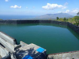 Embung penampung air Desa Dukuh